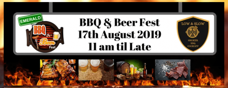 BBQ & Beer Fest – 17th August 2019